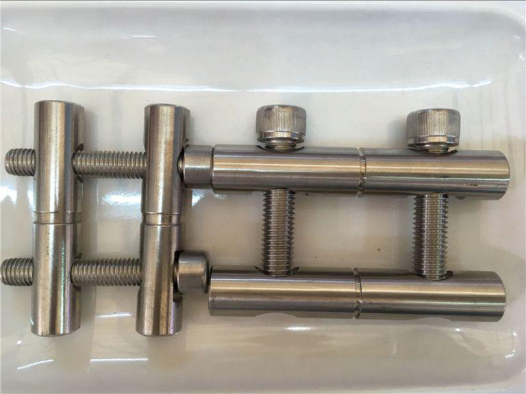 ansi 316ti / sv 1.4571, 317l / sv 1.4438 rostfritt stål delar-anslutning stång serien