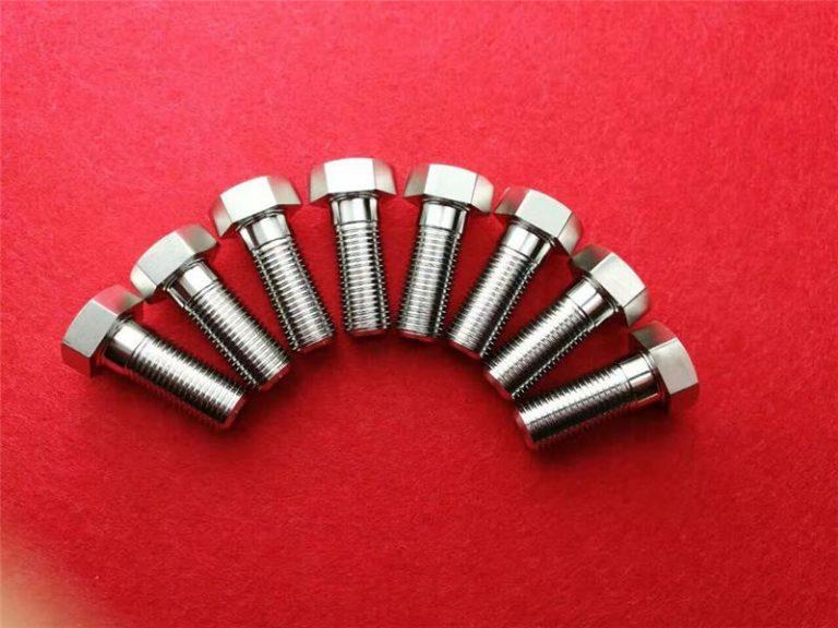 rostfritt stee304 klämskruv / hexagon huvudbult ss 304 truss huvudbult