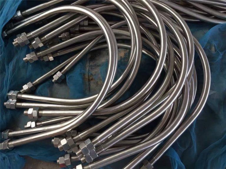 alloy825 en 2.4858 rostfritt stål u bolt legering718 en2.4668 från Kina