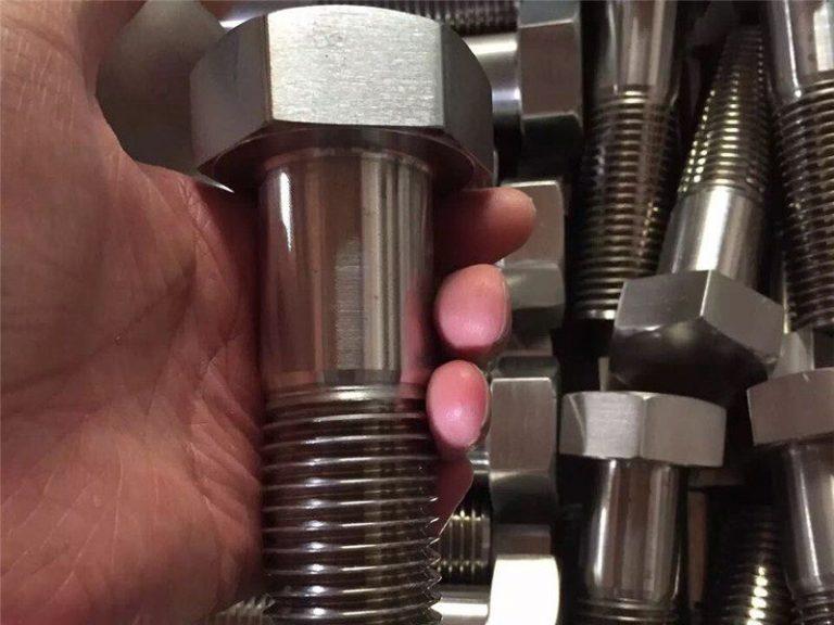 incoloy 825 en 2.4858 rostfritt stål skruvfästning inconel718 en2.4668