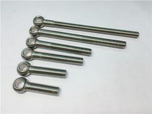 NO.38-904L 1.4539 UNS N08904 Ögonbult, anpassade bultar för ventilmontering