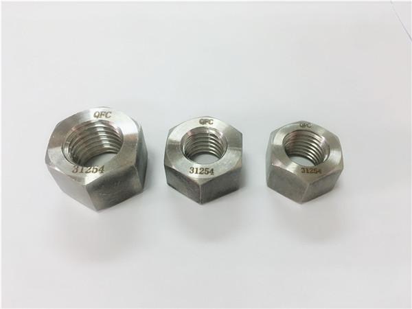 duplex rostfritt stål 2205 / s32205 hexmutter