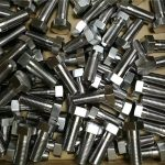 anpassad fästelement 316 rostfritt stål din931 hexbult med bra pris