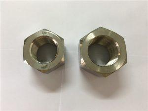 No.111-Tillverkning nickellegering A453 660 1.4980 hexmutter