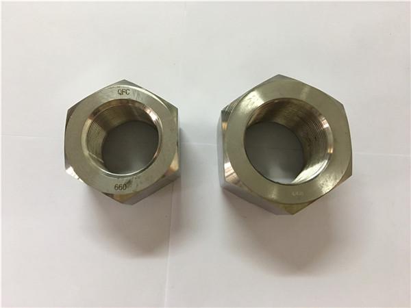tillverkar nickellegering a453 660 1.4980 hexmutter