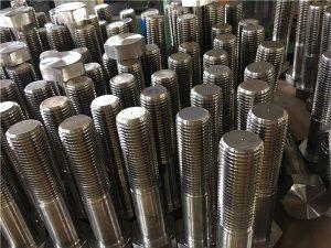 No.12-hexbultar ISO4014 halvgänga A193 B8, B8M, B8T, B8C SS fästelement