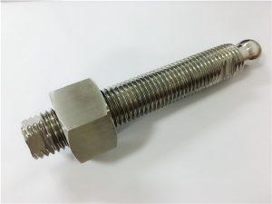 Nr 22-anpassad CNC-fräsning av rostfritt stål bulthuvudbult och fästelement