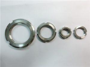 No.33-Kina leverantör specialtillverkade rundmutter av rostfritt stål