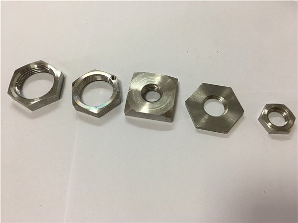 grossistpris fyrkantigt rostfritt stål hjulmutter