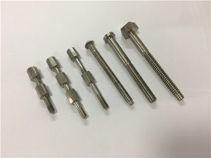 No.41-CNC titanmaskin del bult och mutter