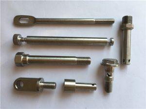 No.42-recision Rostfria fästelement CNC Vridbara metallfästelement