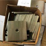 anpassad superduplex s32205 (f60) fyrkantig plåtbricka / fästelement av rostfritt stål