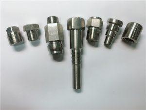 No.67-högkvalitativ Oem svarvmaskin Rostfria stålfästelement gjorda av CNC-bearbetning