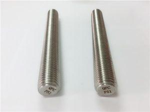 No.77 Duplex 2205 S32205 fästelement i rostfritt stål DIN975 DIN976 gängade stänger F51