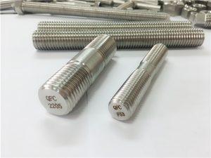 Nr 80-duplex 2205 S32205 2507 S32750 1.4410 högkvalitativ fästelement av trägängad stångankare
