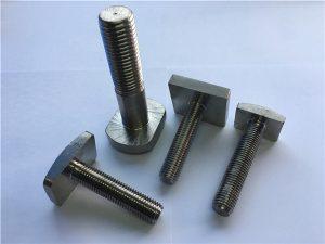 No.99-Supply 904L rostfritt stål bultar till Oil & Gas