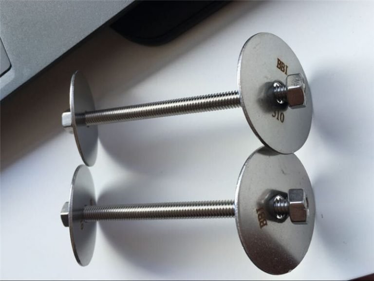 ss310 / ss310s astm f593 fästelement, bultar i rostfritt stål, muttrar och brickor