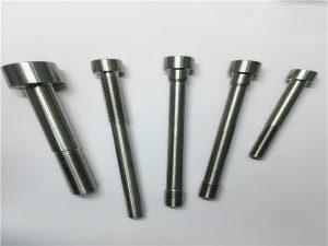 skräddarsydda cylindriska hylsor med cylinderformade huvudstift med hål