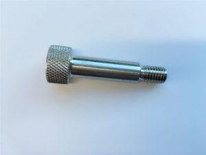 skräddarsydd sockelhexagonhuvudlock 18-8 rostfritt stål axelskruv