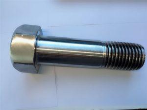 super duplex rostfritt stål din931 halvgängad sexkantbult